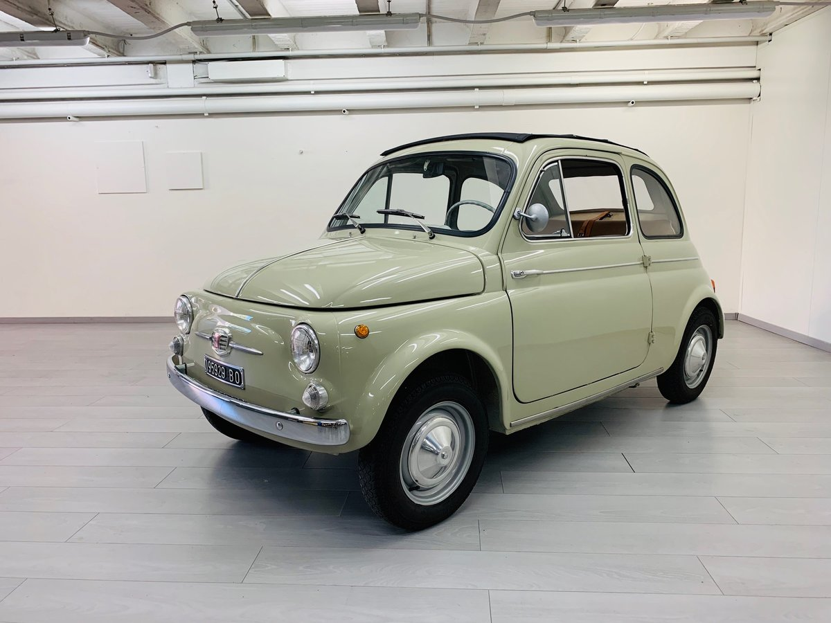 1963 FIAT 500D CABRIOLET For Sale (picture 2 of 6)