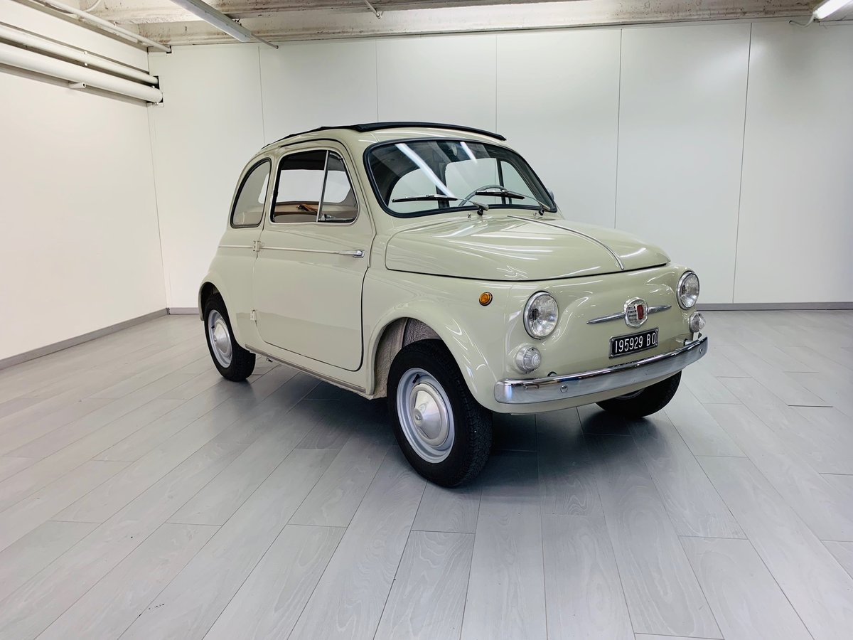 1963 FIAT 500D CABRIOLET For Sale (picture 3 of 6)