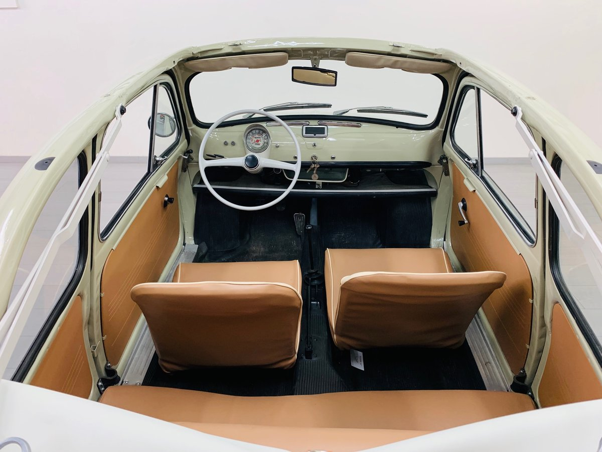 1963 FIAT 500D CABRIOLET For Sale (picture 4 of 6)