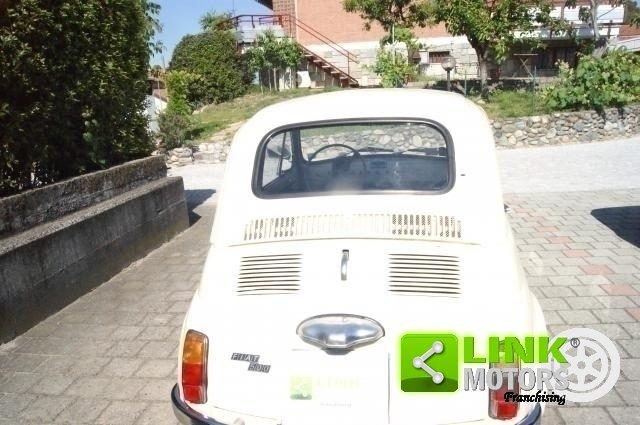 1970 Fiat 500 F RESTAURO TOTALE PERFETTA ISCRITTA ASI For Sale (picture 4 of 6)
