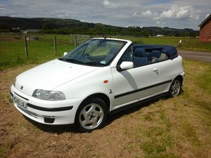 1997 Fiat Punto ELX 16v Bertone at Morris Leslie Auction 17th Aug SOLD by Auction