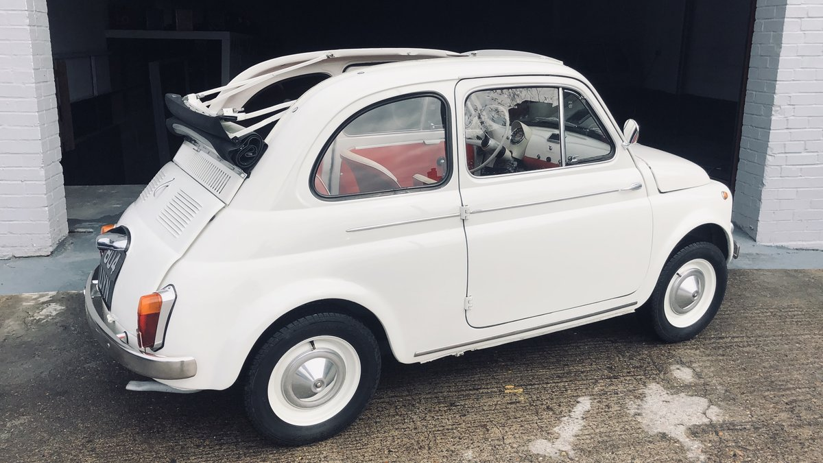 1960 Fiat 500D Trasformabile For Sale (picture 2 of 6)