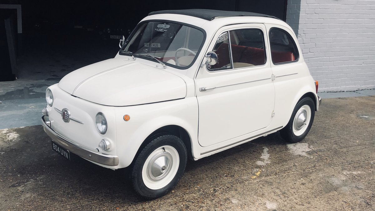 1960 Fiat 500D Trasformabile For Sale (picture 3 of 6)