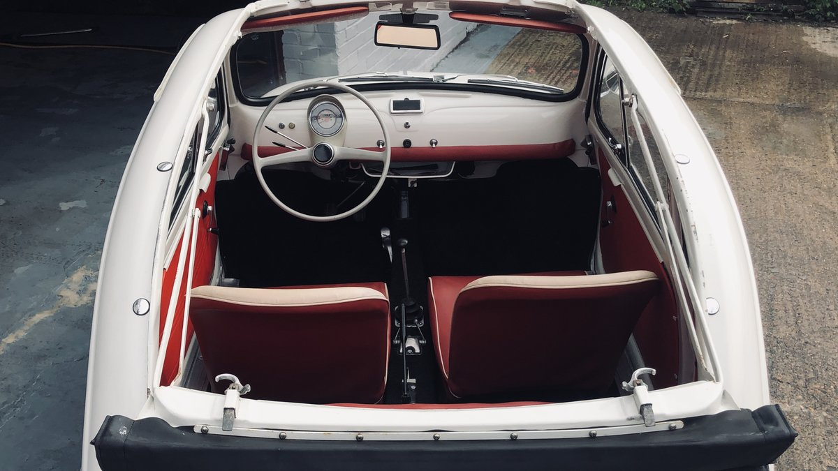 1960 Fiat 500D Trasformabile For Sale (picture 5 of 6)