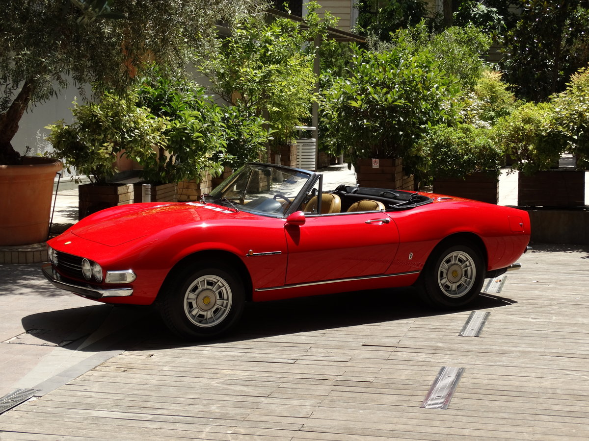 1972 Fiat Dino 2.4 Spider, fully restored, Ferrari overhaul For Sale (picture 1 of 6)