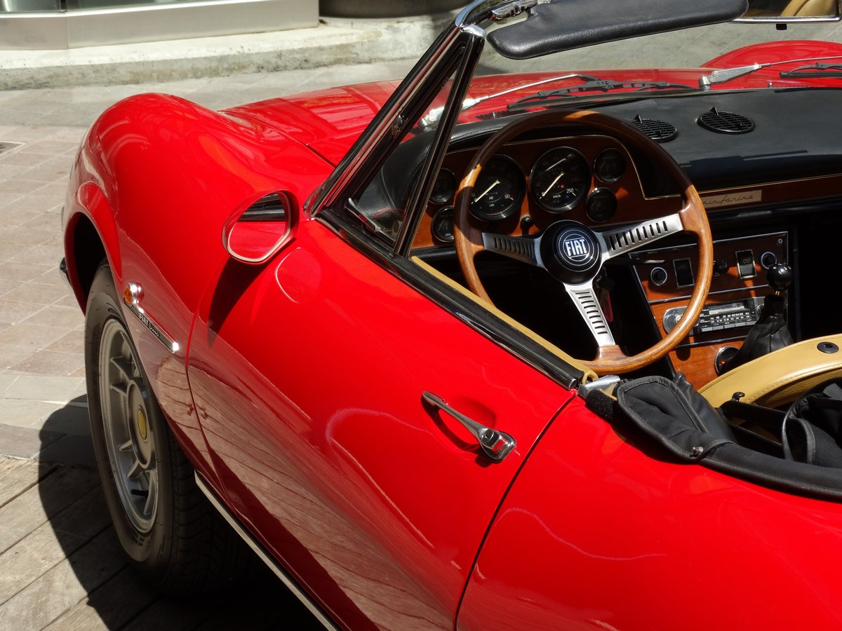 1972 Fiat Dino 2.4 Spider, fully restored, Ferrari overhaul For Sale (picture 5 of 6)