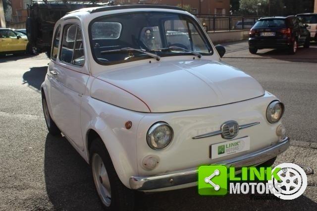 1971 Fiat 500 L con cappotta nera Iscritta ASI For Sale (picture 1 of 6)