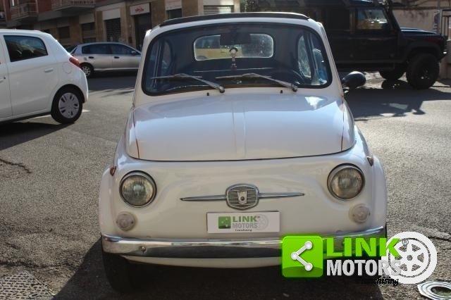 1971 Fiat 500 L con cappotta nera Iscritta ASI For Sale (picture 2 of 6)