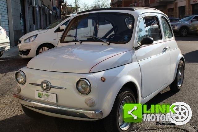 1971 Fiat 500 L con cappotta nera Iscritta ASI For Sale (picture 3 of 6)