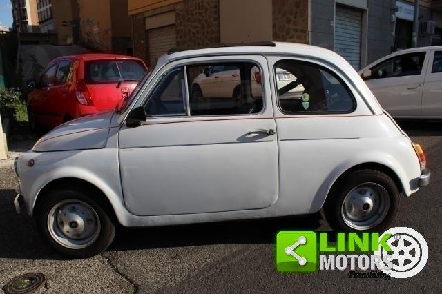 1971 Fiat 500 L con cappotta nera Iscritta ASI For Sale (picture 4 of 6)