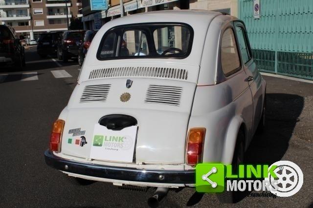 1971 Fiat 500 L con cappotta nera Iscritta ASI For Sale (picture 5 of 6)