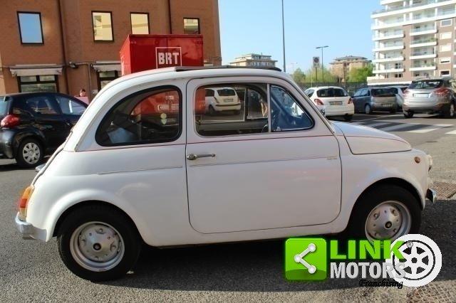 1971 Fiat 500 L con cappotta nera Iscritta ASI For Sale (picture 6 of 6)