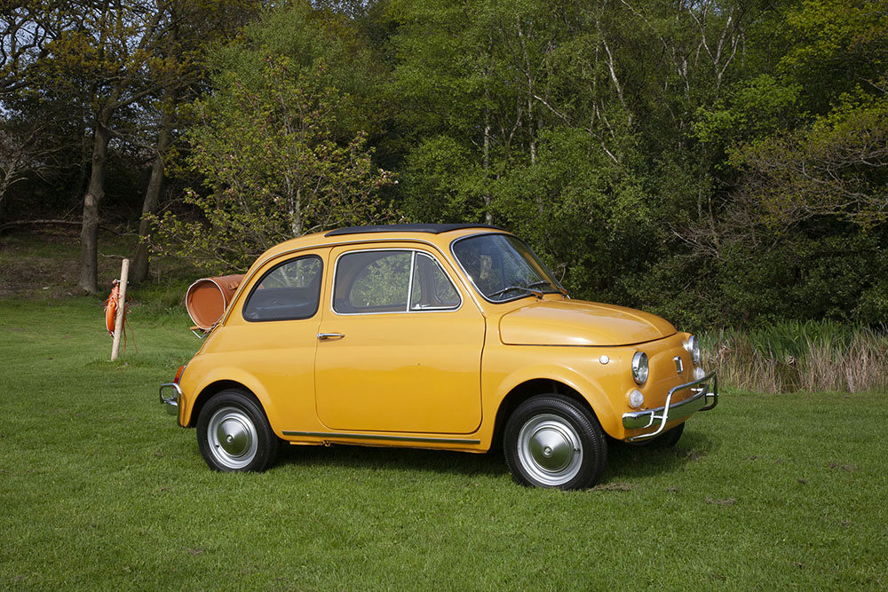 1970 FIAT 500L LHD - RESTORED In Beamish Auction July 2019 SOLD by Auction (picture 1 of 5)