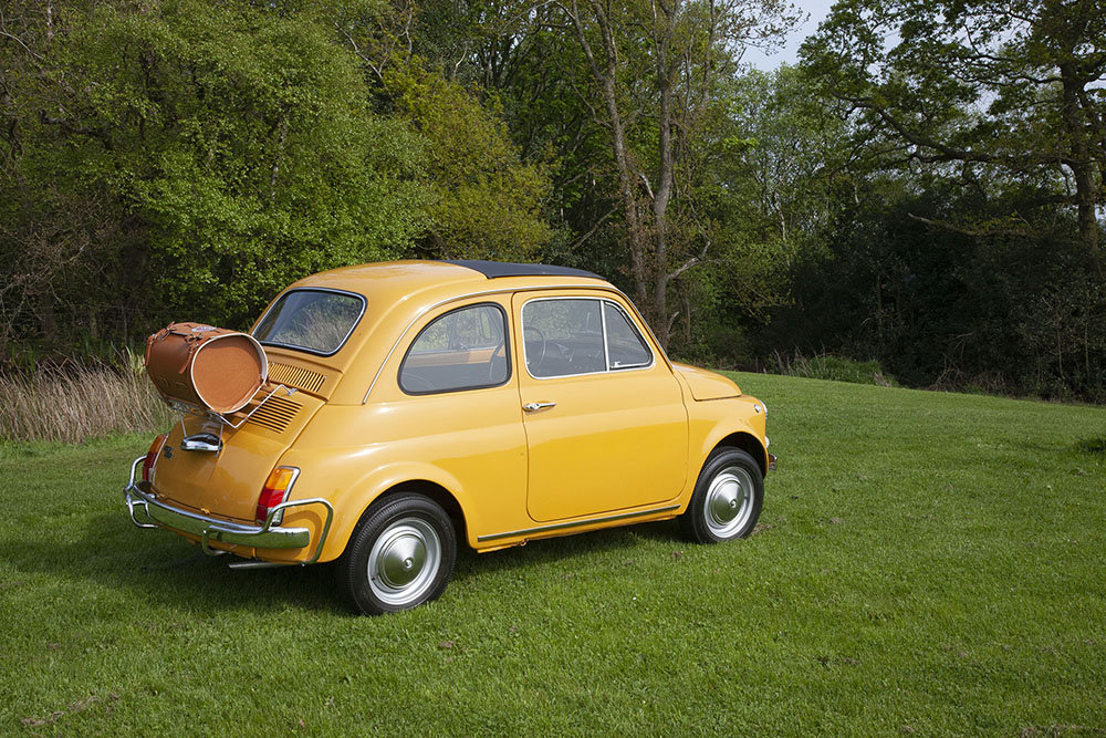 1970 FIAT 500L LHD - RESTORED In Beamish Auction July 2019 SOLD by Auction (picture 4 of 5)