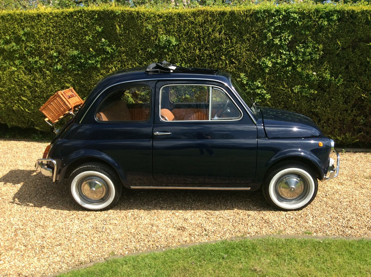 1970 Fiat 500 Lusso For Sale (picture 1 of 6)