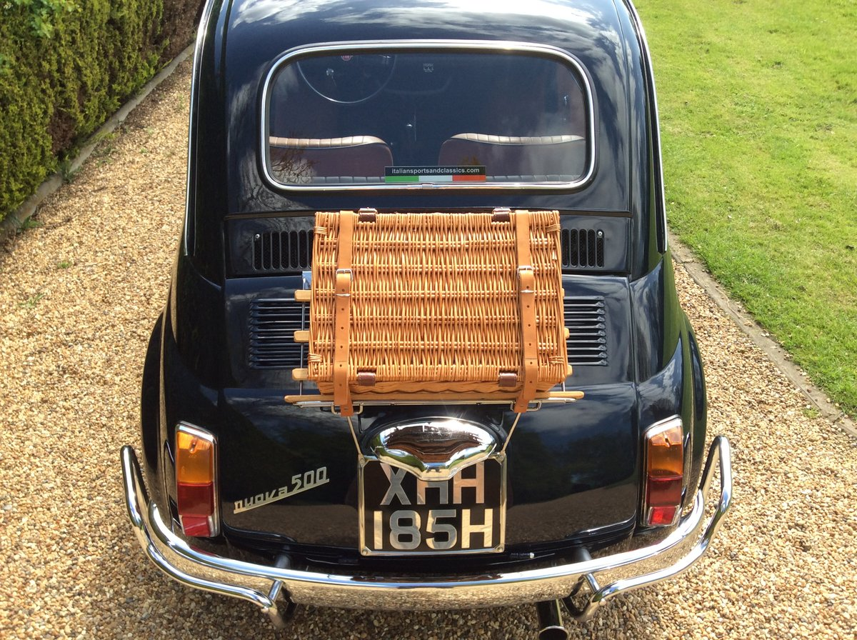 1970 Fiat 500 Lusso For Sale (picture 2 of 6)