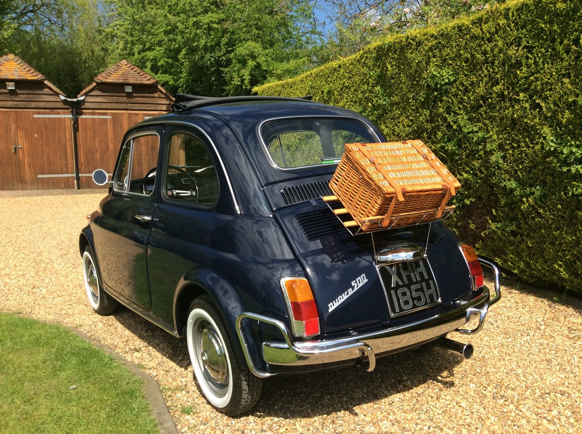1970 Fiat 500 Lusso For Sale (picture 3 of 6)