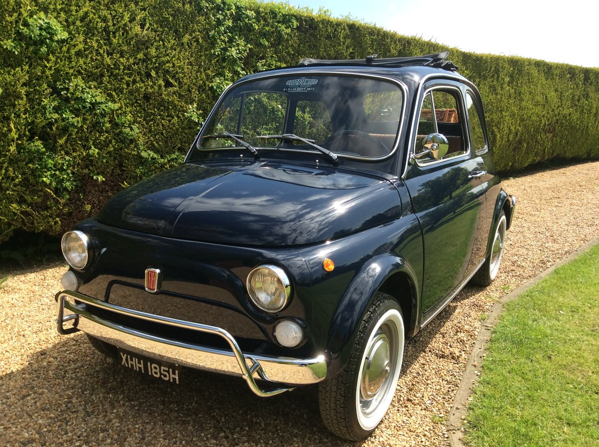 1970 Fiat 500 Lusso For Sale (picture 4 of 6)