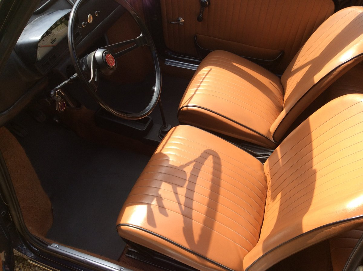 1970 Fiat 500 Lusso For Sale (picture 5 of 6)