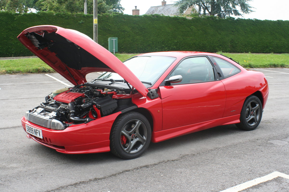 1999 Fiat Coupe 20v Turbo Le, Limited Edition. Poss PX For Sale (picture 2 of 6)