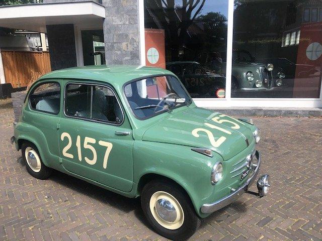 Original Ex 1955 Fiat 600 Mille Miglia Brandi-Forini 1955 For Sale (picture 1 of 6)