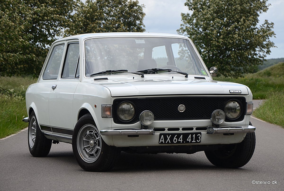 1973 Fiat 128 Rally in pristine condition For Sale (picture 1 of 6)