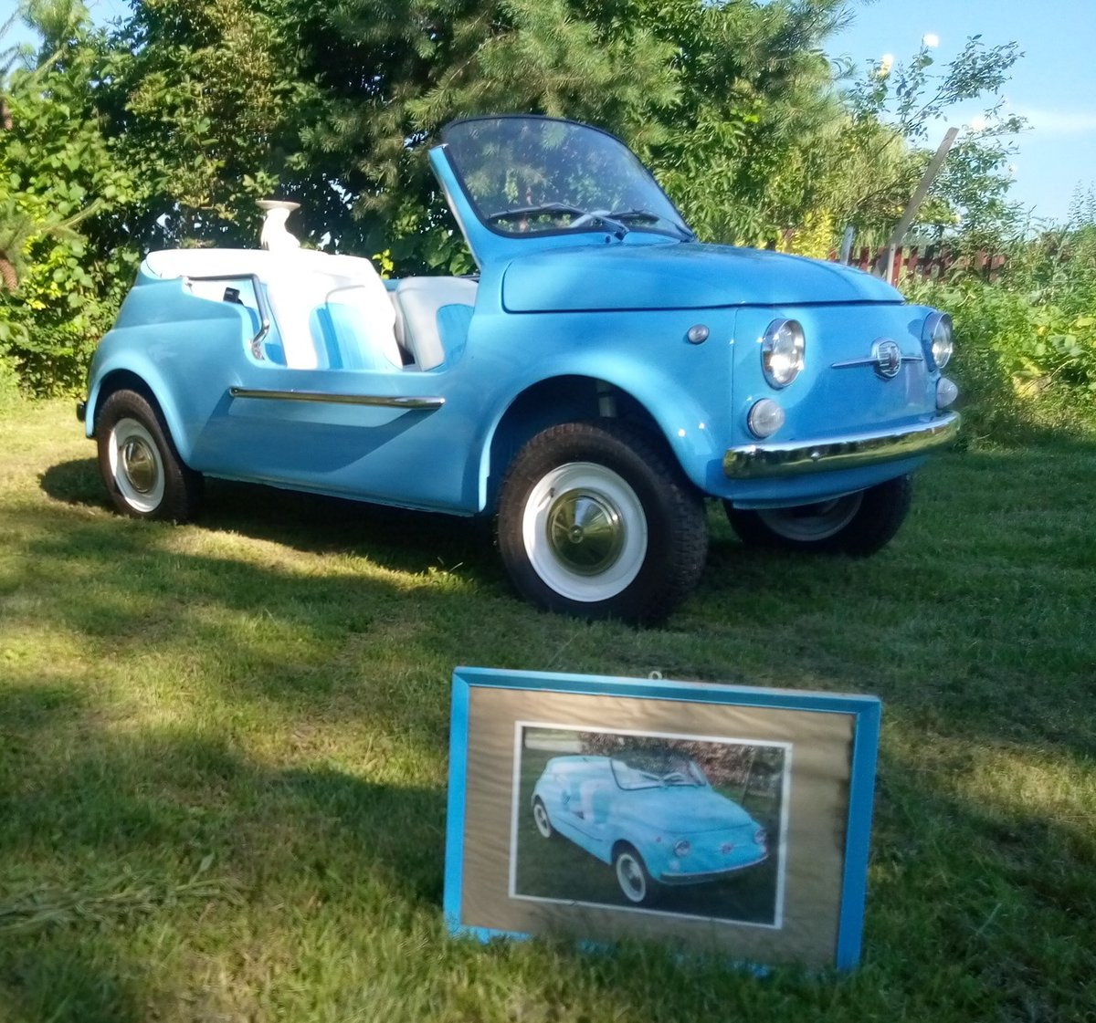 1969 The EXACT copy of the classic FIAT 500 beach car  For Sale (picture 6 of 6)