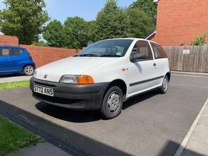 1998 Fiat-Punto-Mk1-60s-White For Sale