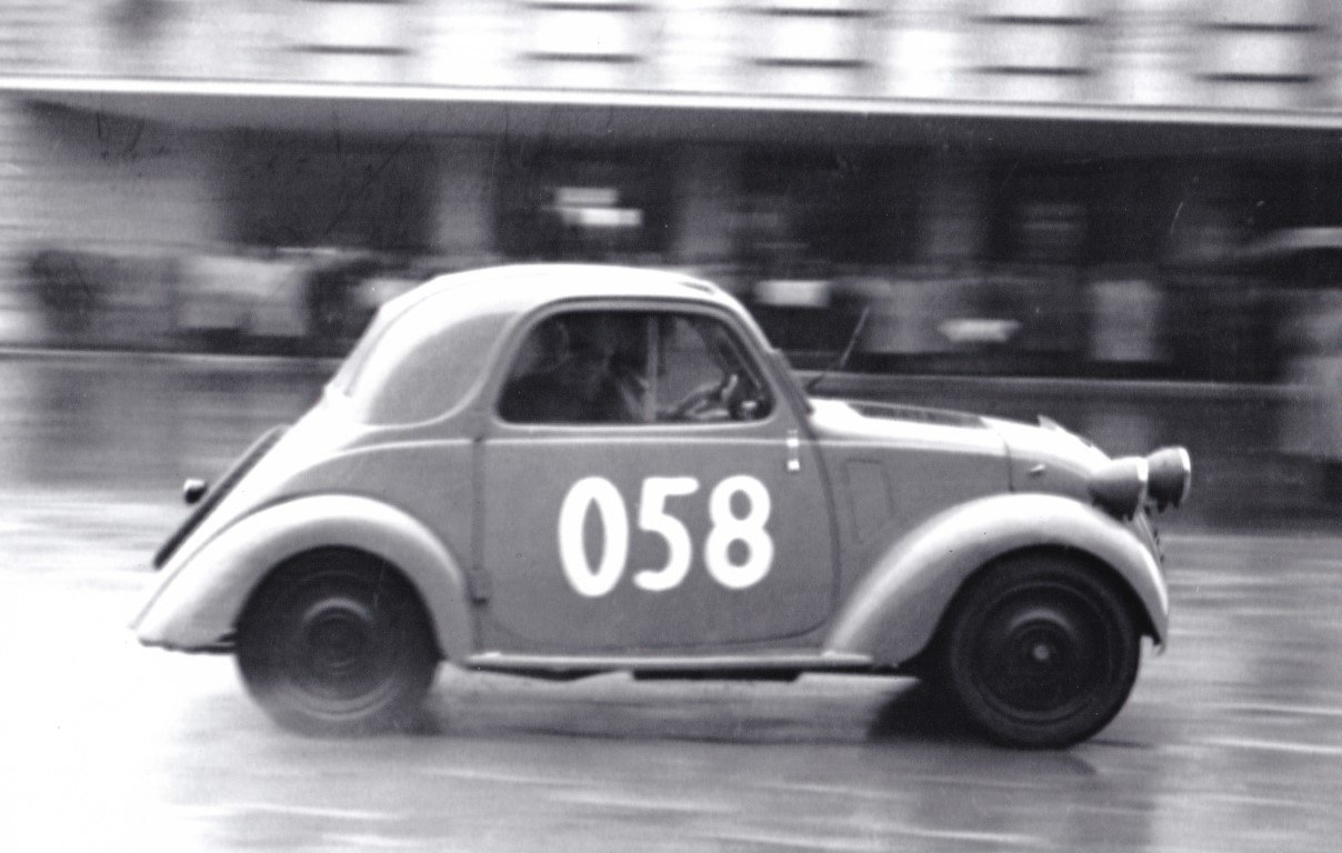"1948 FIAT 500B ""Topolino"" ex Mille Miglia 1950 For Sale (picture 1 of 6)"