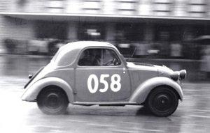 """1948 FIAT 500B """"Topolino"""" ex Mille Miglia 1950"""