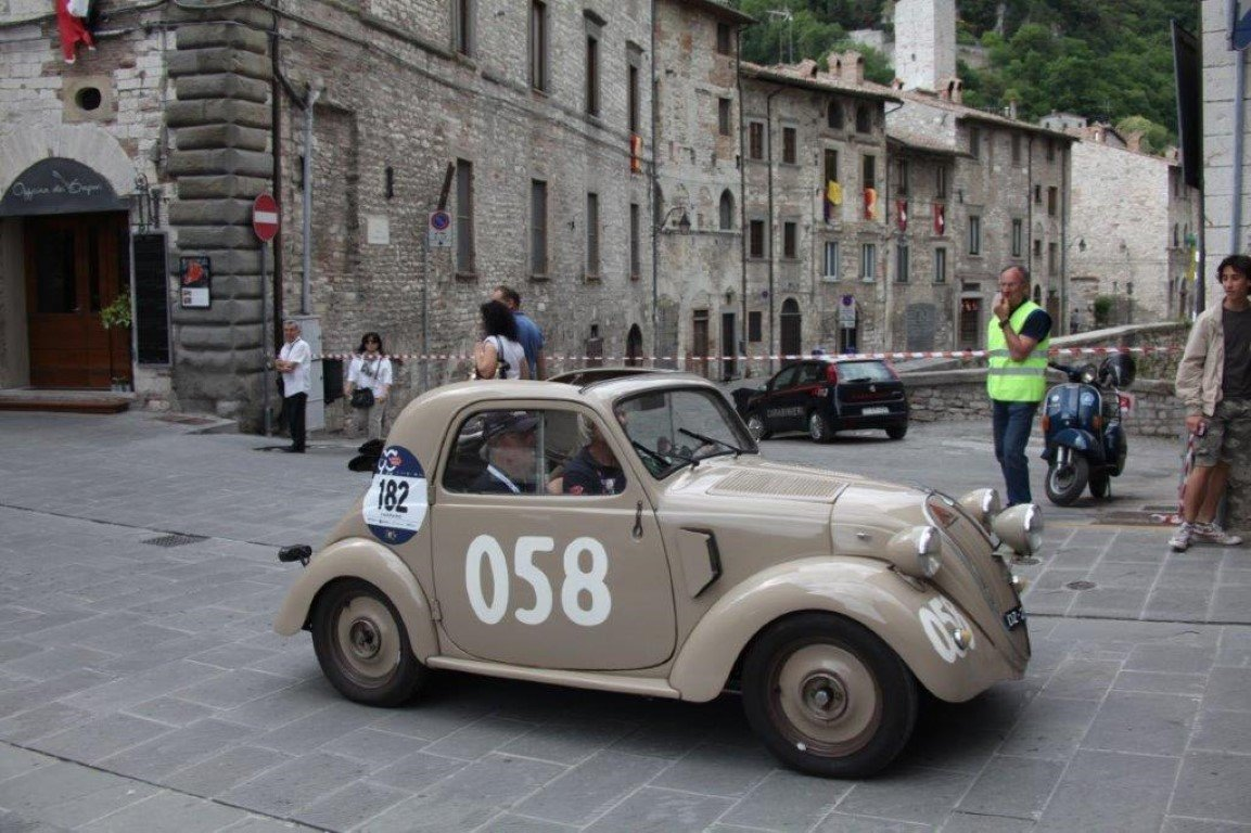 "1948 FIAT 500B ""Topolino"" ex Mille Miglia 1950 For Sale (picture 2 of 6)"