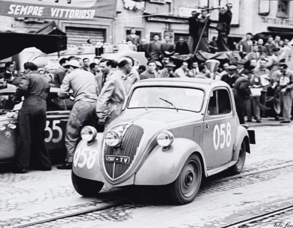"1948 FIAT 500B ""Topolino"" ex Mille Miglia 1950 For Sale (picture 3 of 6)"