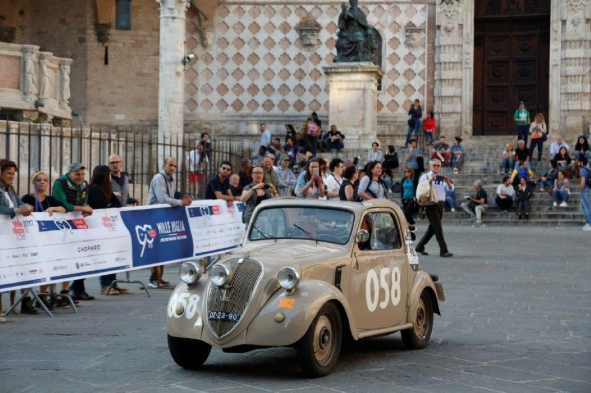 "1948 FIAT 500B ""Topolino"" ex Mille Miglia 1950 For Sale (picture 4 of 6)"