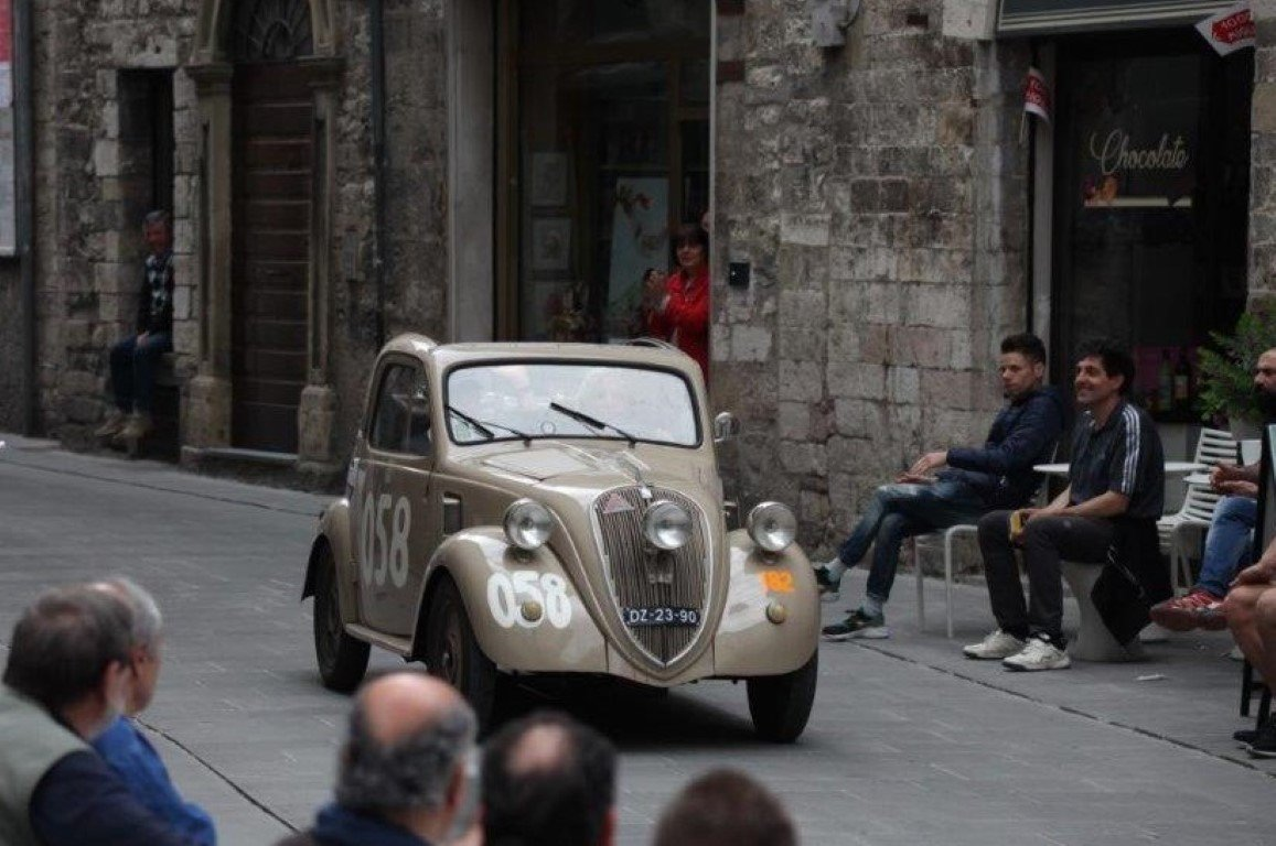 "1948 FIAT 500B ""Topolino"" ex Mille Miglia 1950 For Sale (picture 6 of 6)"