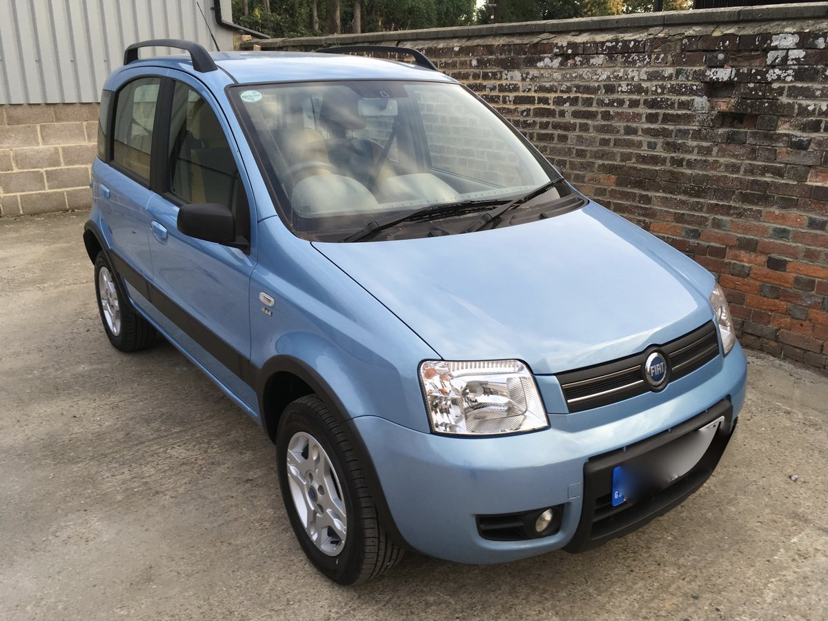 2006 Lovely Fiat Panda 4x4 - 2 previous owners For Sale (picture 1 of 6)