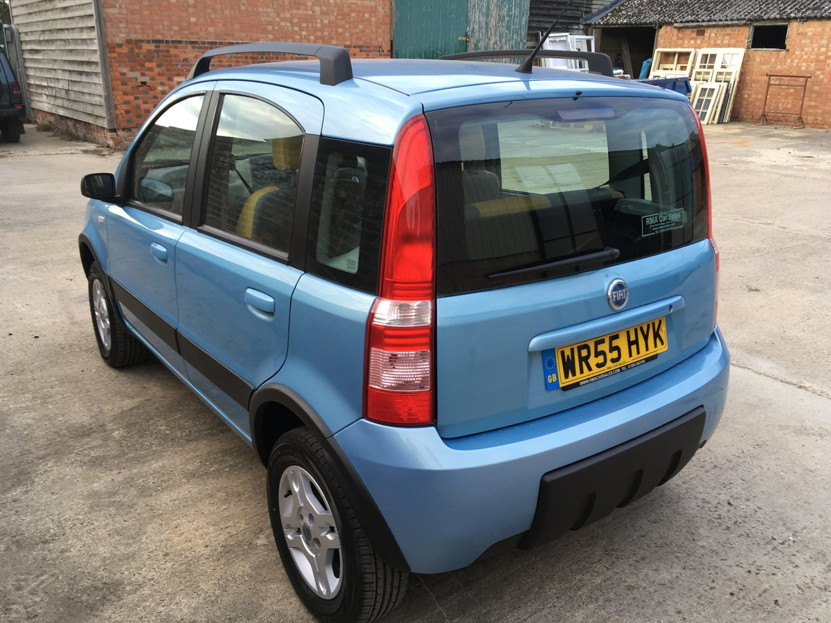 2006 Lovely Fiat Panda 4x4 - 2 previous owners For Sale (picture 3 of 6)