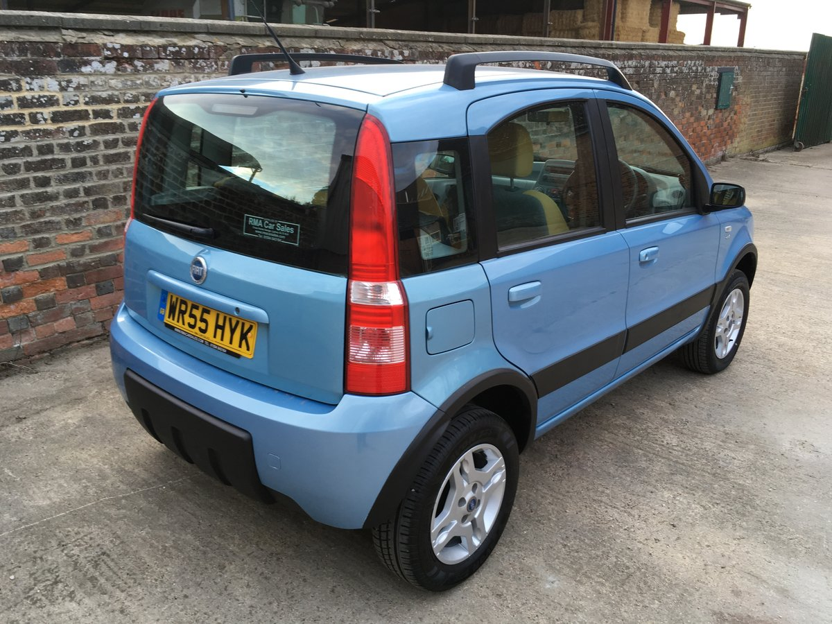 2006 Lovely Fiat Panda 4x4 - 2 previous owners For Sale (picture 4 of 6)