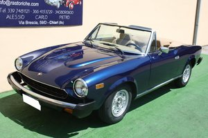 FIAT 124 CONVERTIBLE 2000 OF 1979