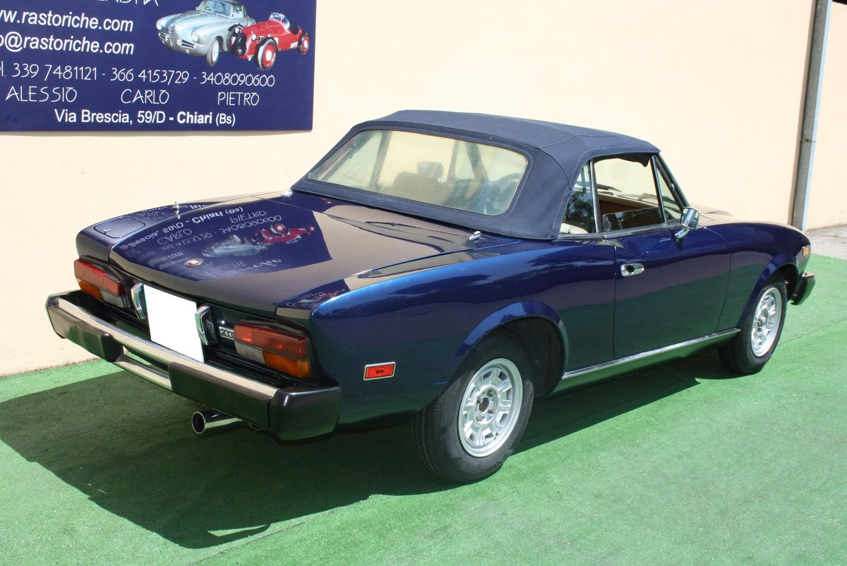 FIAT 124 CONVERTIBLE 2000 OF 1979 For Sale (picture 2 of 6)