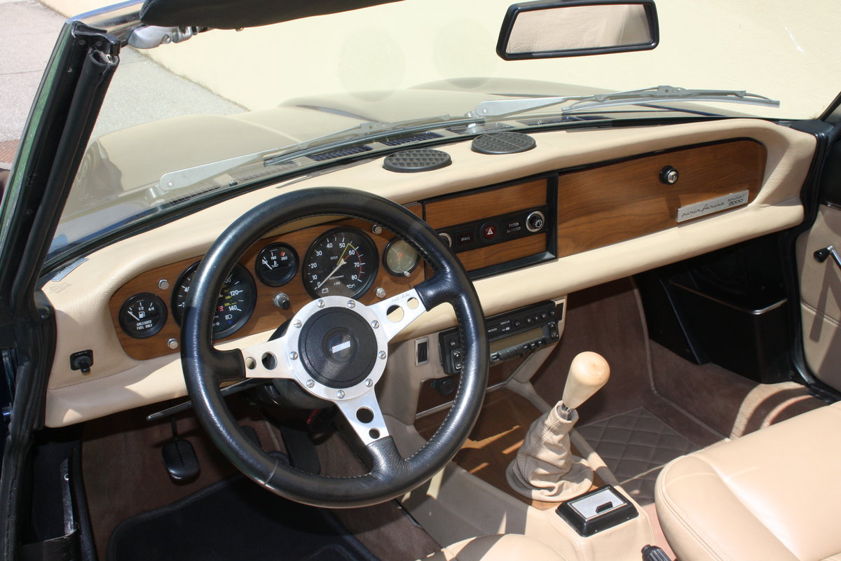 FIAT 124 CONVERTIBLE 2000 OF 1979 For Sale (picture 3 of 6)