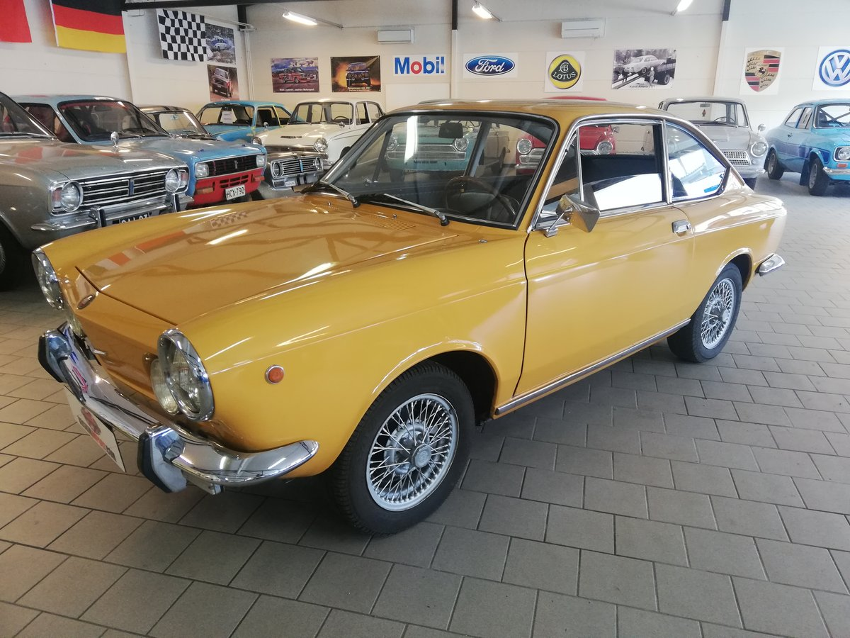 1971 Fiat Coupe Sport 850-100 GBC For Sale (picture 1 of 6)
