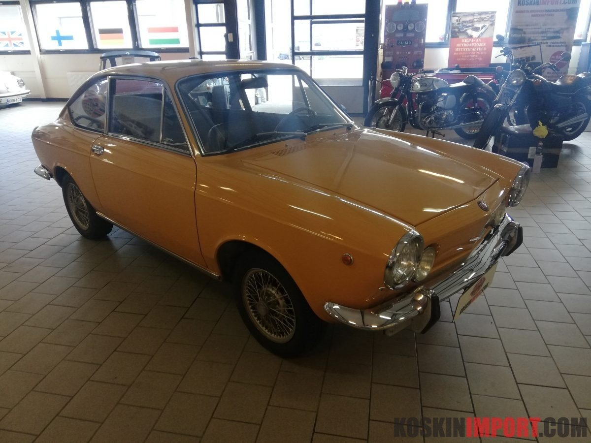 1971 Fiat Coupe Sport 850-100 GBC For Sale (picture 2 of 6)