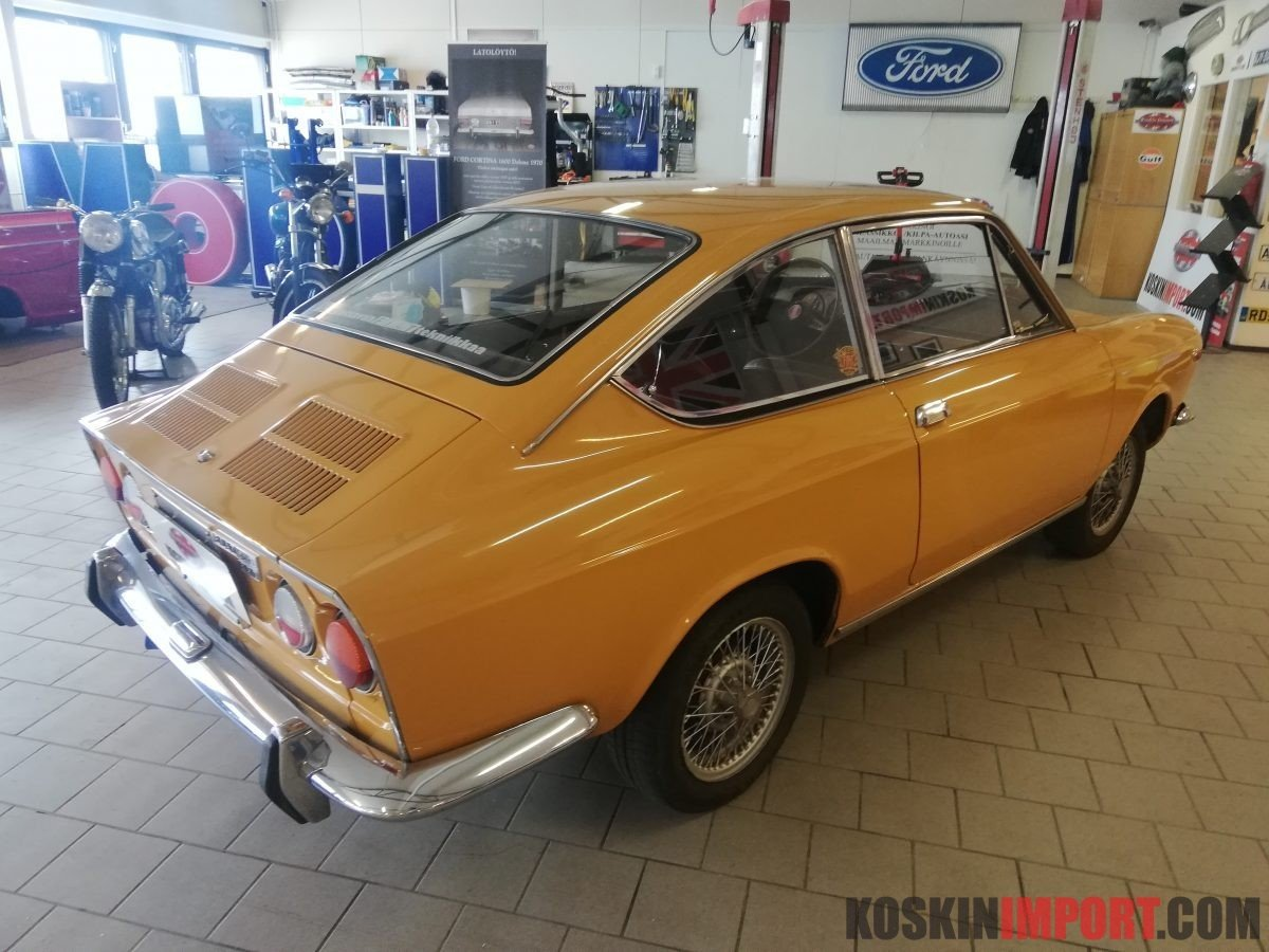 1971 Fiat Coupe Sport 850-100 GBC For Sale (picture 3 of 6)