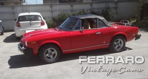 1979 Fiat 124 Sport Spider 2.0 Automatic For Sale