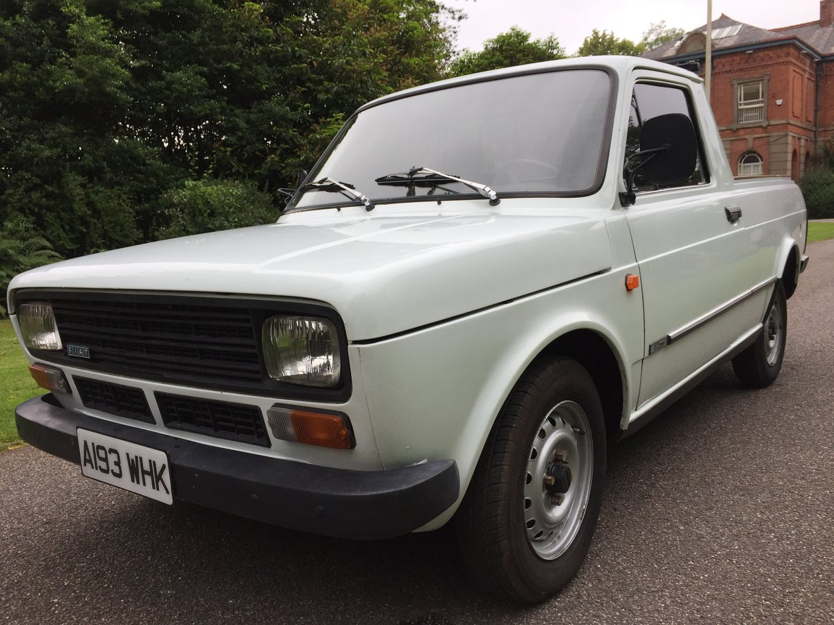 1984 Fiat Fiorino MK1 Pick-Up For Sale (picture 1 of 6)