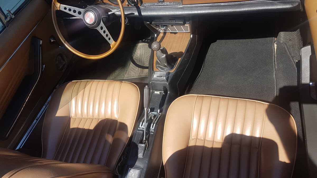 1977 Fiat 124 Chome Bumper Spider For Sale (picture 4 of 6)