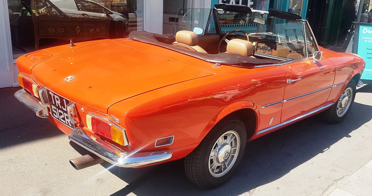 1977 Fiat 124 Chome Bumper Spider For Sale (picture 6 of 6)