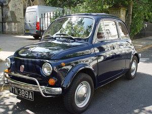 LHD 1971 Fiat 500L