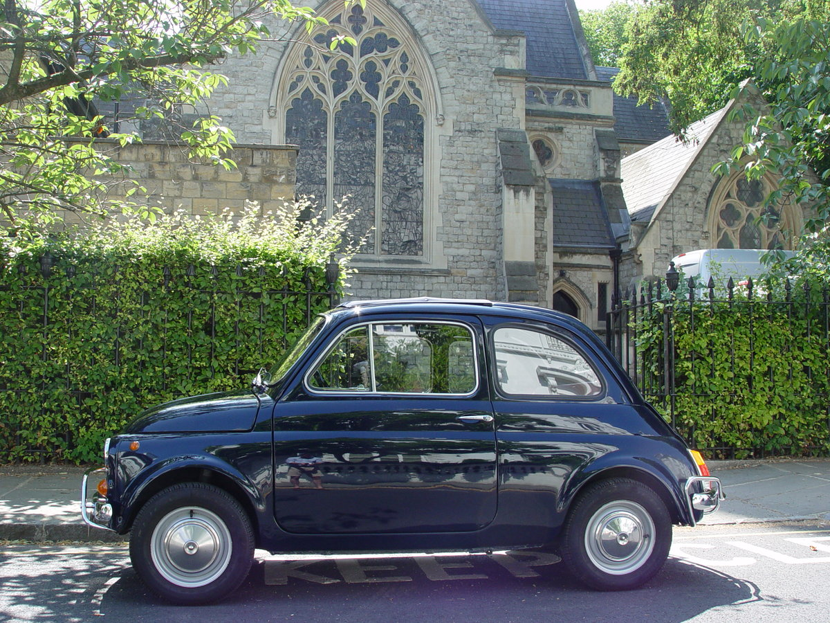 1963 LHD 1971 Fiat 500L For Sale (picture 2 of 6)