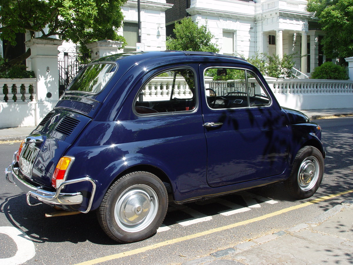 1963 LHD 1971 Fiat 500L For Sale (picture 3 of 6)